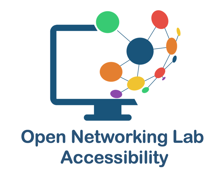 Developing accessible network simulation software for the visually impaired
